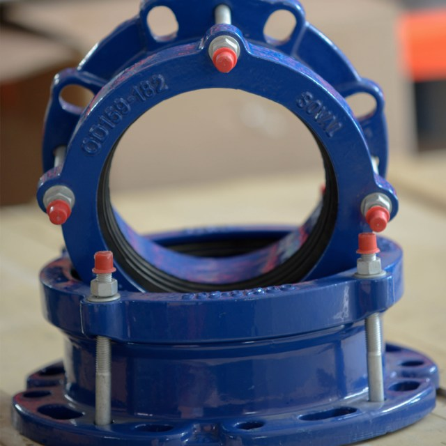 Cast Iron Ranged Coupling